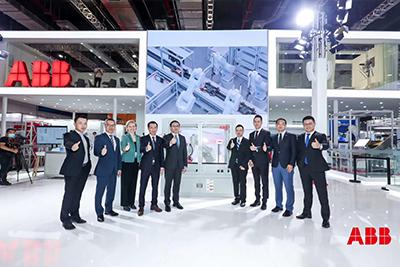 IRB 1300机器人全球首发仪式